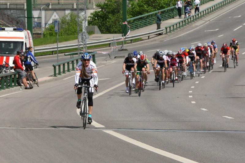 Dviratininkai susirungė Kauno maratono trasoje (papildyta)