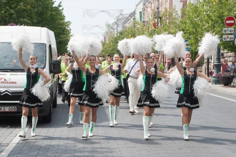 Vilniuje atidaroma Moksleivių dainų šventė