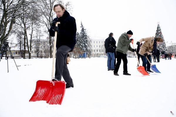 Vilniaus mero talkoje – pora miestelėnų ir daug politinės reklamos