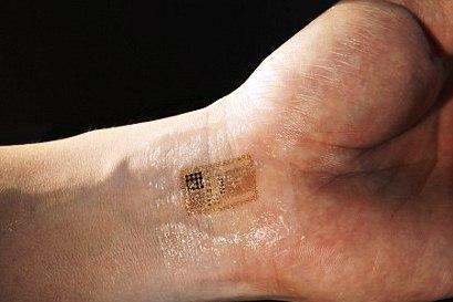 """""""Tatuiruotės"""" mikroschema stebės pacientų gyvybines funkcijas"""