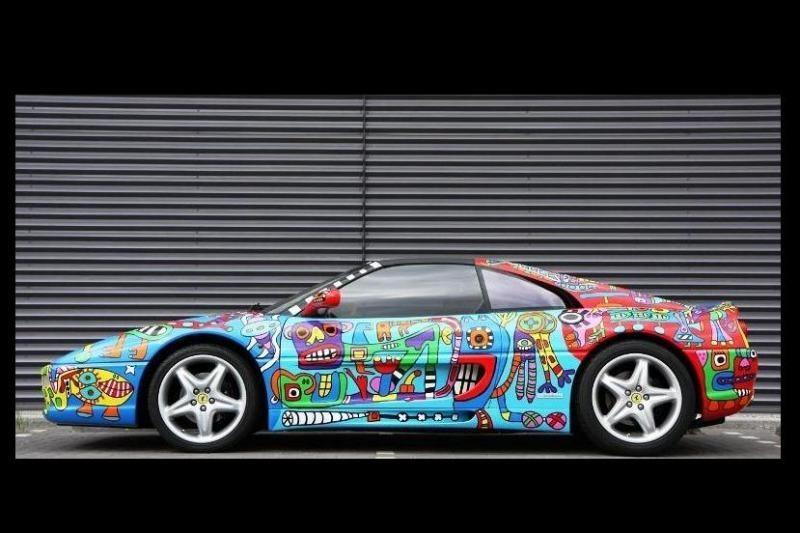 """Ferrari 355 GTS"" - meno kūrinys ar beskonybė?"