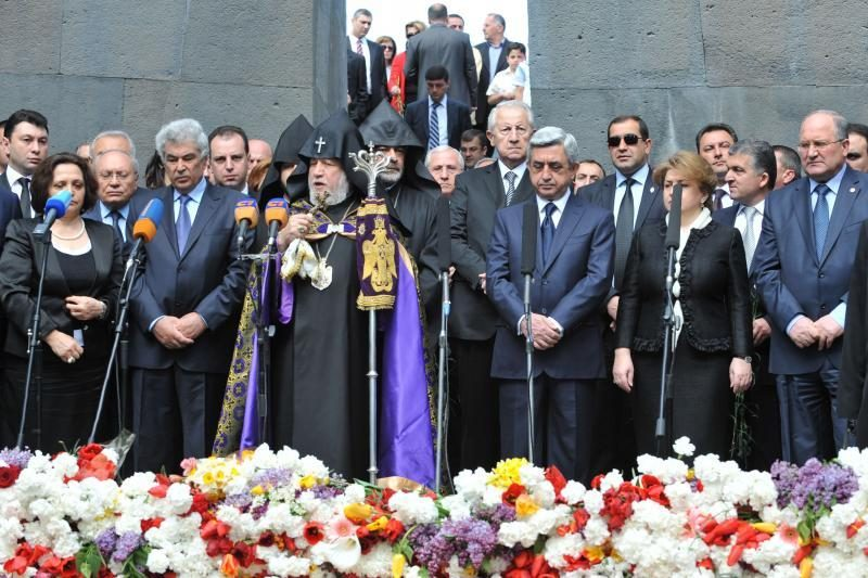 Tūkstančiai armėnų mini savo tautos genocido metines