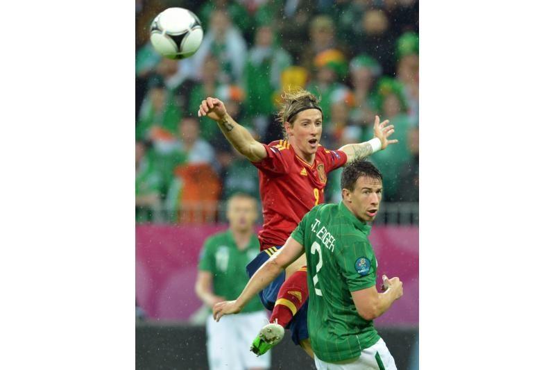 Ispanijos rinktinė sutriuškino Airiją 4:0