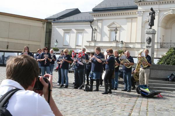 Klaipėdiečiams – norvegiški maršai