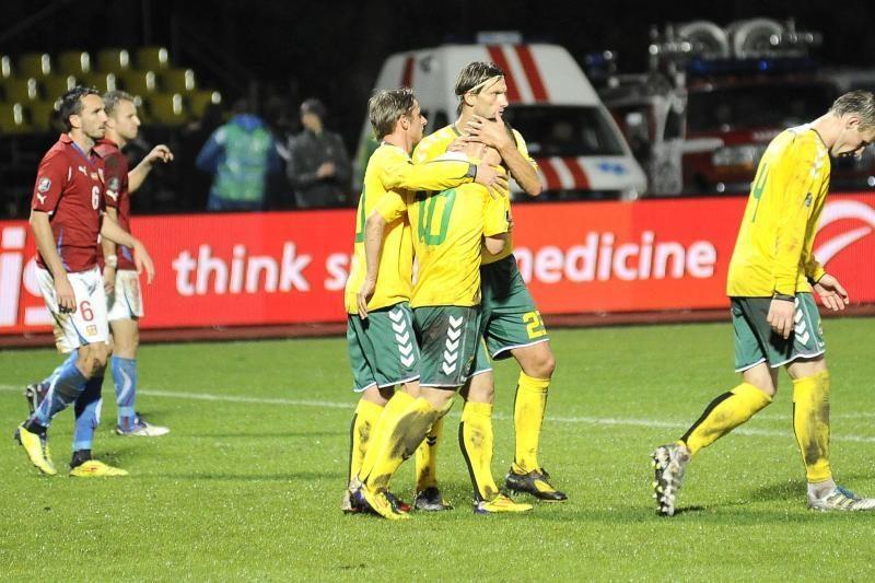 Euro2012 atranką lietuviai baigė eiliniu pralaimėjimu