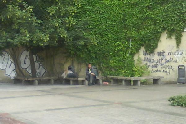Ispanų turistus užpuolę Klaipėdos benamiai - nebaudžiami