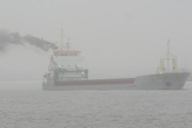 Incidentas Klaipėdos uosto įplaukoje