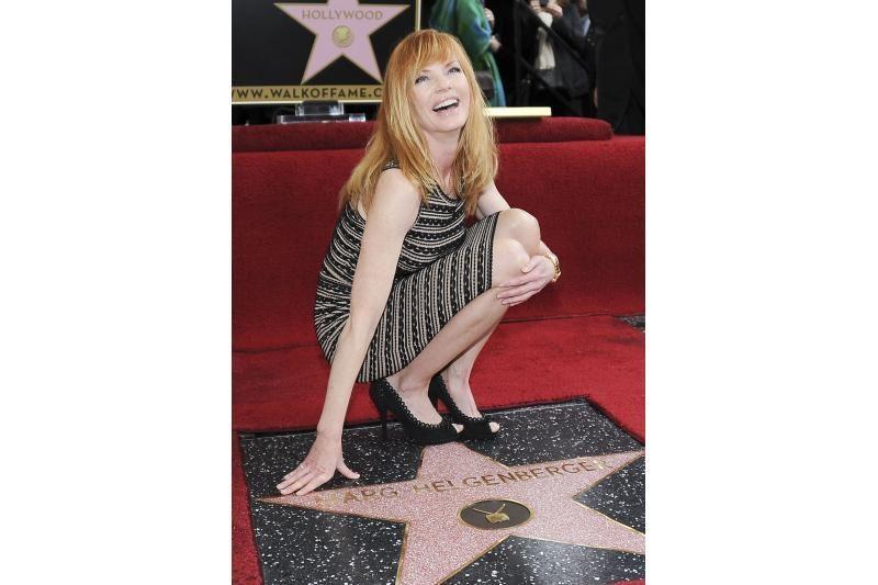 Aktorė M.Helgenberger gavo savo žvaigždę Šlovės alėjoje