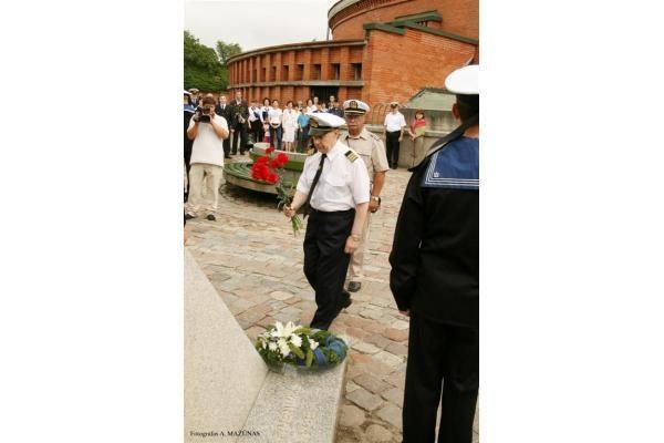 """""""Jūros šventė 2010"""": Jūrų muziejuje pagerbti jūrininkai"""