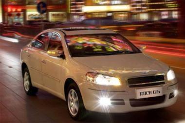 Kinijos gamintojai išbandė automobilį Niurburge