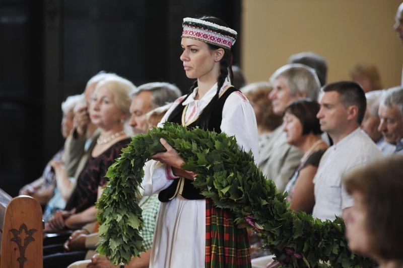 Raudondvaryje buvo pagerbti grafai Tiškevičiai
