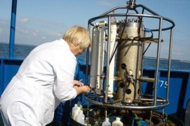 Klaipėdos mokslininkai tyrė Baltijos jūrą