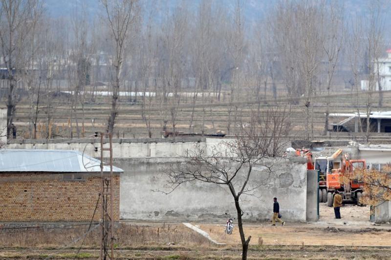 Pakistane nugriautas namas, kuriame slapstėsi O. bin Ladenas