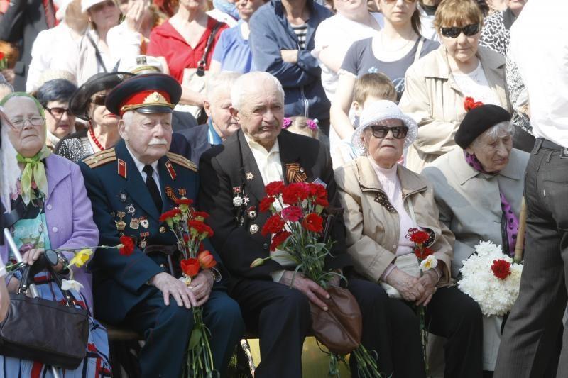 Klaipėdiečiai paminėjo  Pergalės dieną
