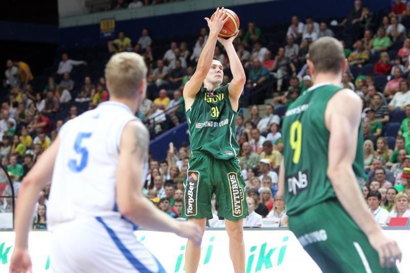 Išlydėtuvių rungtynėse lietuviai pervažiavo Islandiją 101:51