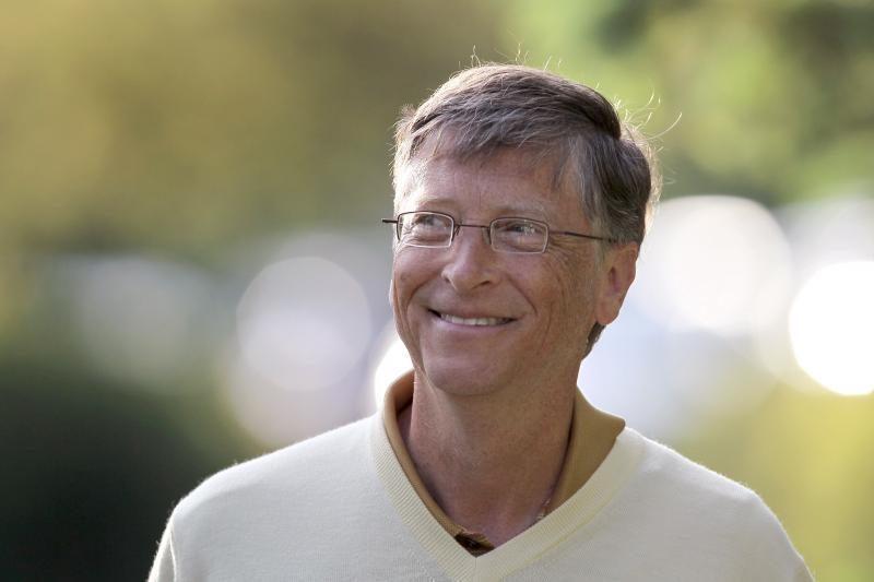 Bilas Geitsas ir mokesčiai: mokėti reikia daugiau