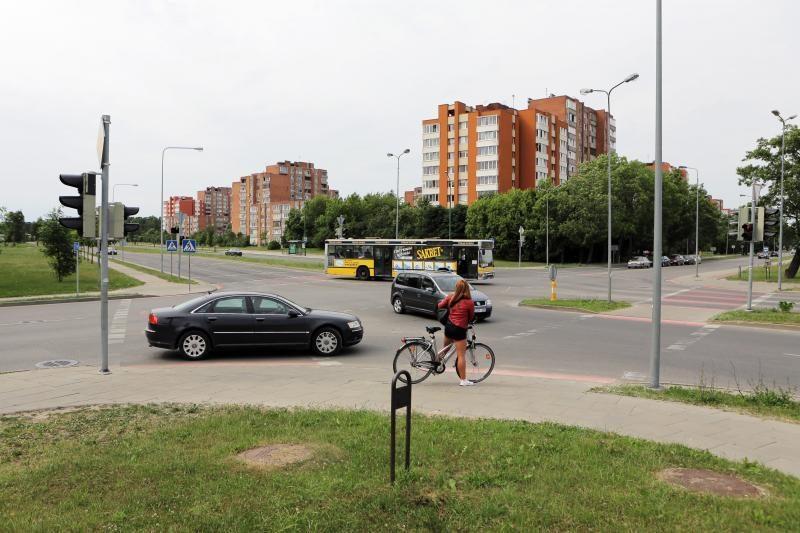 Šiaurinėje Klaipėdos dalyje - eismo pokyčiai