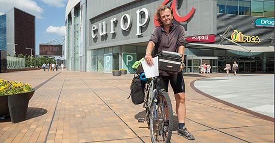 Britų dviratininko maršrute Vilnius - 41 Europos sostinė