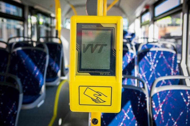Naujai viešojo transporto tvarkai Vilniuje nepritarta