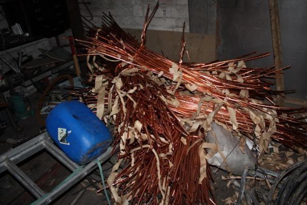 Teismas konfiskavo 2 mln. litų vertės metalo laužo