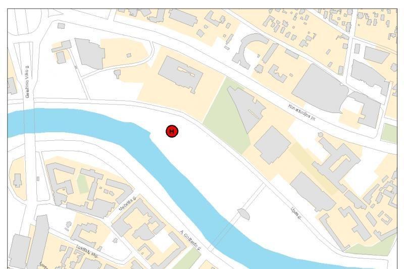 Šalia Baltojo Tilto bus įrengta laikina sraigtasparnių aikštelė
