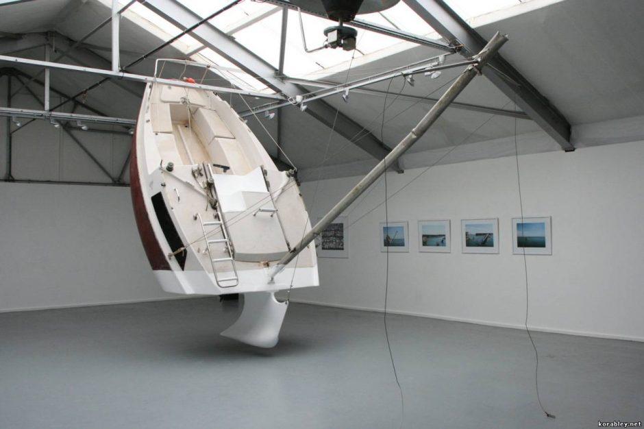 Originaliausia jachta pasaulyje aplinkiniams kelia siaubą