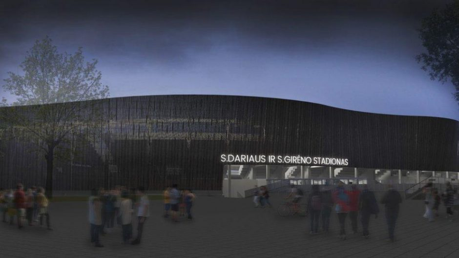 Žvilgsnis į ateitį: kaip po rekonstrukcijos atrodys S. Dariaus ir S. Girėno stadionas