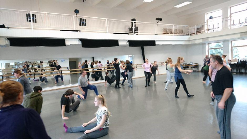 Į profesionalaus šokio dirbtuves kvies KU Šokio katedra
