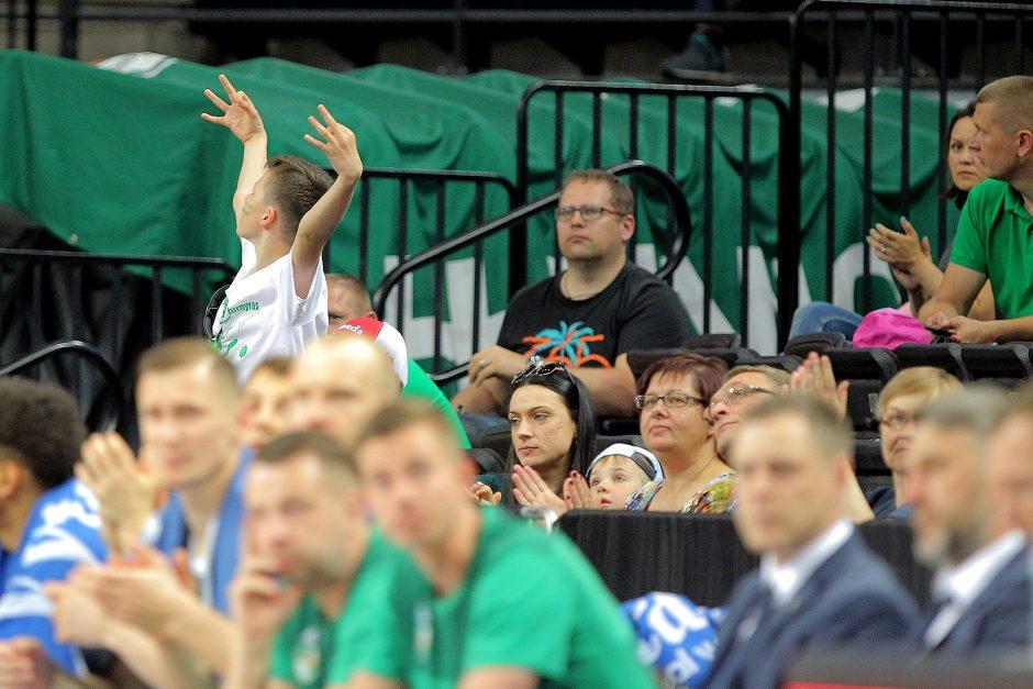 """LKL ketvirtfinalis: """"Žalgiris"""" – """"Nevėžis"""" 95:70"""