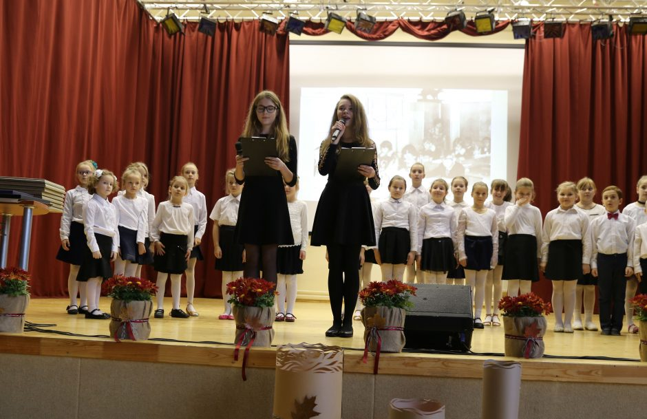 Paminėtos Zapyškio mokyklos 340-osios metinės