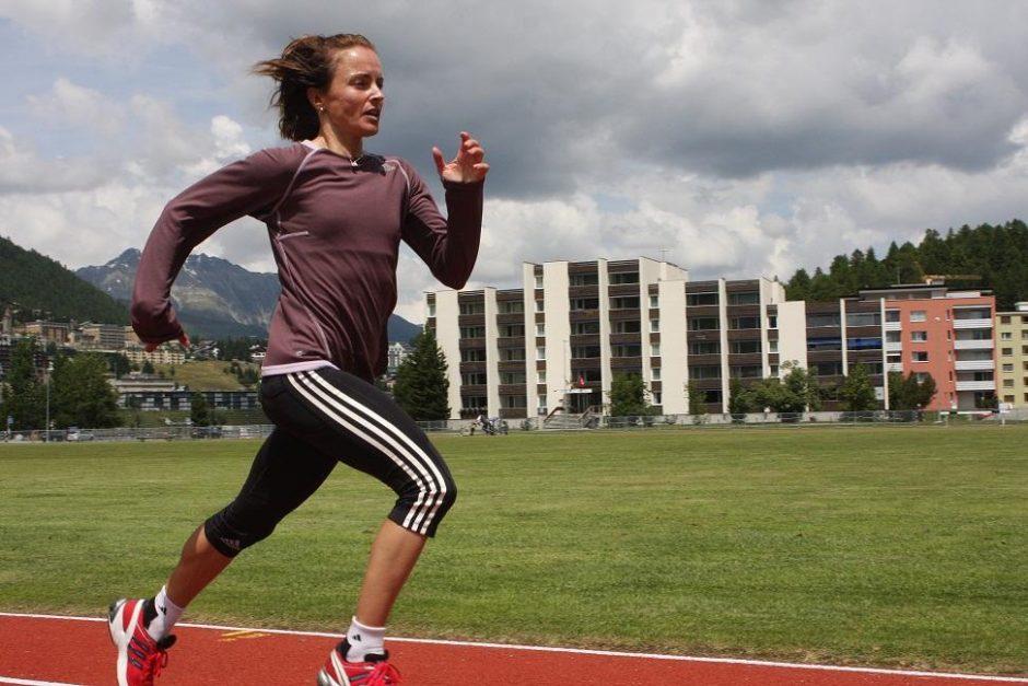 Ž. Balčiūnaitė: 10 km bėgime Vilniuje sieksiu pergalės