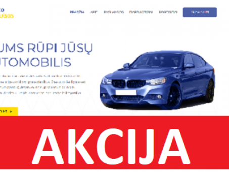 Skelbimas - Interneto Svetainė Skirta Automobilių Servisui