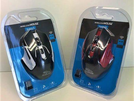 Skelbimas - Nauja moderni belaidė Wireless pelė!