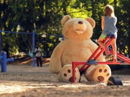 Skelbimas - Didelis meškinai Teddy (prekyba urmo kaina)