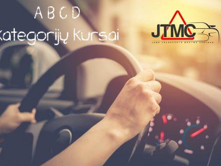 Skelbimas - JTMC vairavimo mokyklos Vilniuje