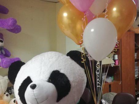 Skelbimas - Didelii meškinai ir helio balionai