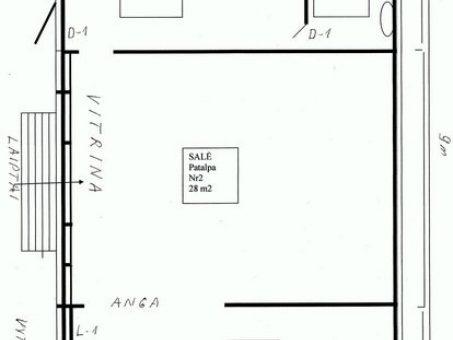 Skelbimas - Komercinės patalpos Garliavos centre 54 m2
