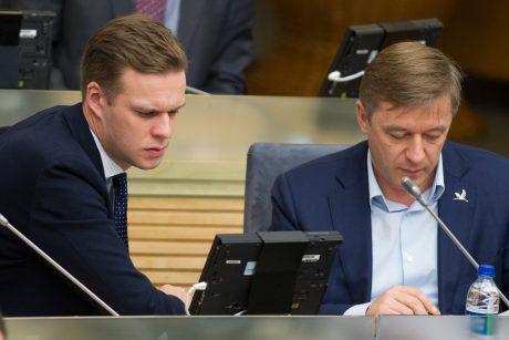 G. Landsbergis apie R. Karbauskio kaltinimus: tai yra kliedesys