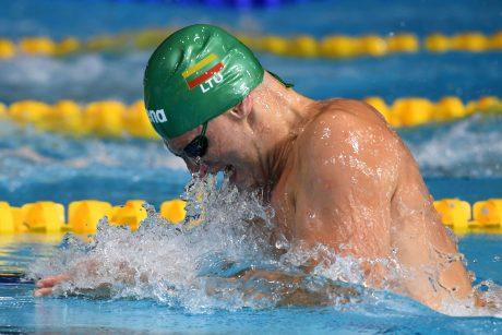 Plaukikas G. Titenis varžybose Prancūzijoje vėl liko ketvirtas