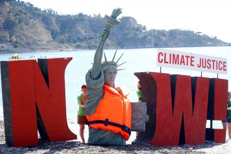 Didžiojo septyneto susitikimą temdo klimato kaitos klausimas?