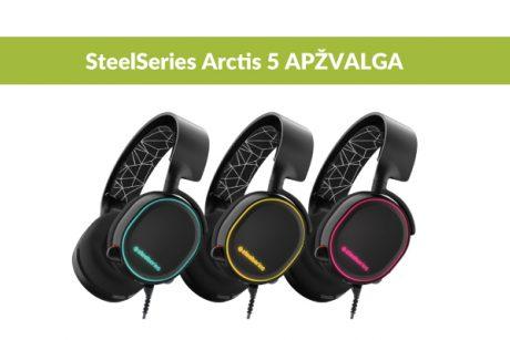 """Kodėl """"SteelSeries Arctis 5"""" ausinės vertos žaidėjų dėmesio?"""