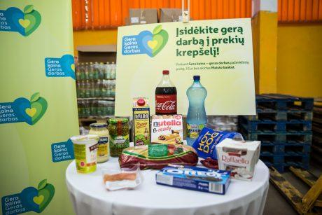 """""""Iki"""" parduotuvėse """"Maisto bankui"""" paaukota daugiau nei 300 tūkst. eurų"""