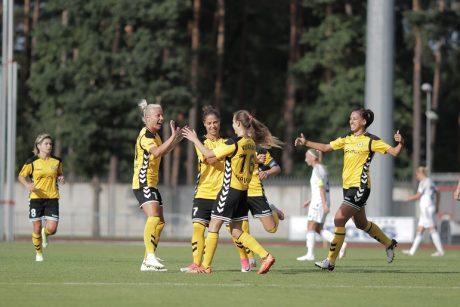 """""""Gintros-Universiteto"""" futbolininkės pateko į Čempionių lygos atkrintamąsias varžybas"""