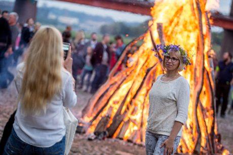 Ugniagesiai ir medikai džiaugiasi: švęsta saugiai