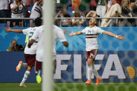 Meksikos rinktinė pasaulio čempionate iškovojo antrąją pergalę