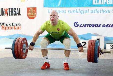 Olimpinis prizininkas sunkiaatletis A. Didžbalis įtariamas dopingo vartojimu