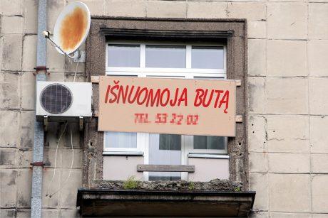 Būsto nuomotojams – simbolinis verslo liudijimo mokestis