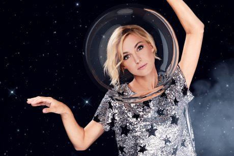 """TV3 televizijos žvaigždės """"išskrido"""" į kosmosą"""