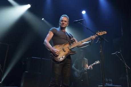 Vienintelis superžvaigždės Stingo koncertas bus Kaune