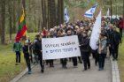 Panerių memoriale vyko Gyvųjų maršo procesija
